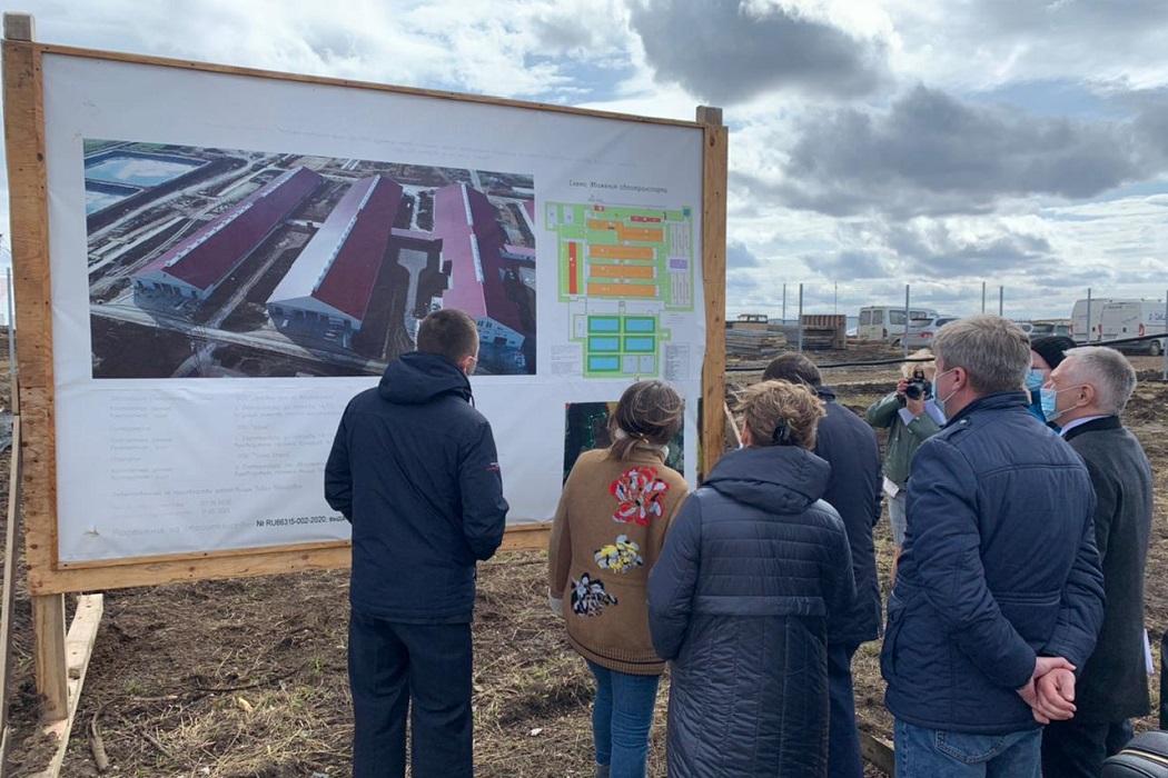 В Свердловской области в 2021 году откроется молочно-товарная мегаферма