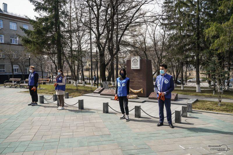 georgievskaya lentochka volontery den pobedy 1