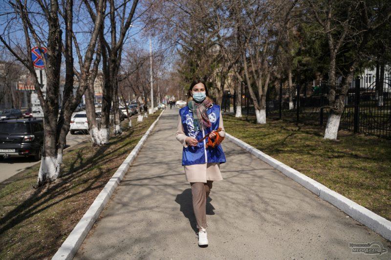georgievskaya lentochka volontery den pobedy 15