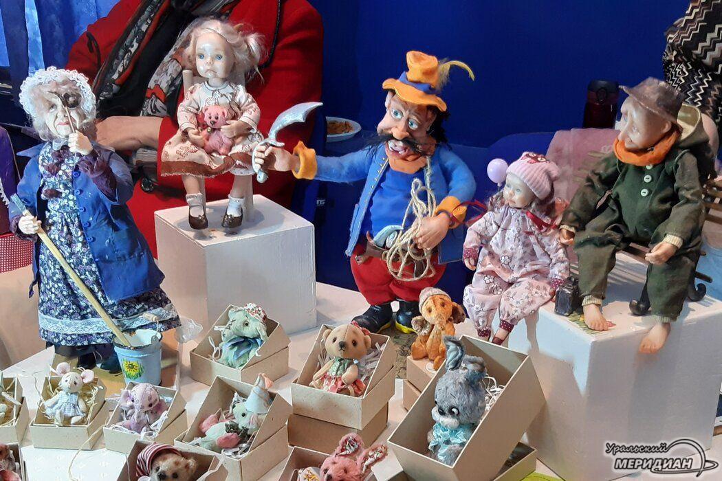 35 фестиваль авторских кукол