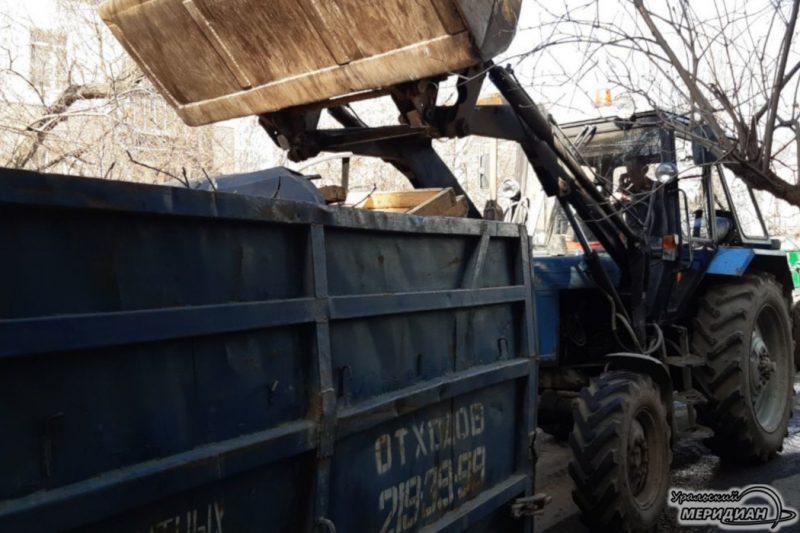 Дворы вывоз мусора