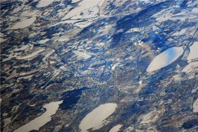 Текслер выложил фотографию Челябинска с орбиты ко Дню Космонавтики