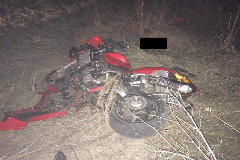 В ДТП на трассе Екатеринбург – Полевской погиб 33-летний мотоциклист