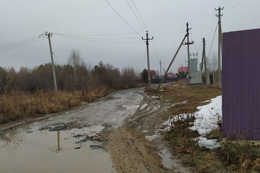 Посёлок Гагарский под Екатеринбургом затопило водой и грязью