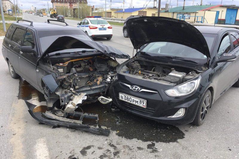 12 ДТП произошло на дорогах Ямала за сутки 1