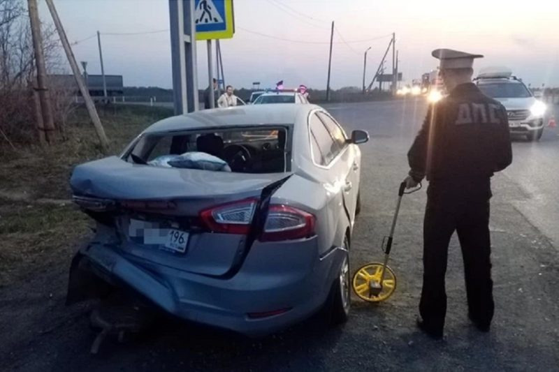 Четыре ребёнка и взрослый пострадали в ДТП на Пермском тракте