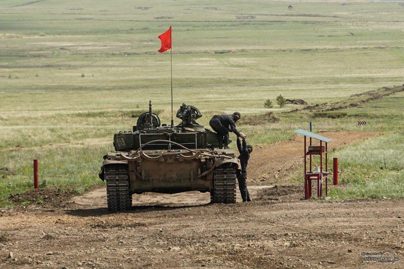 Armeyskie igry Tankovyy biatlon TSVO tank 17.05.21 20