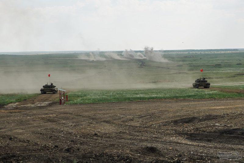 Armeyskie igry Tankovyy biatlon TSVO tank 17.05.21 21