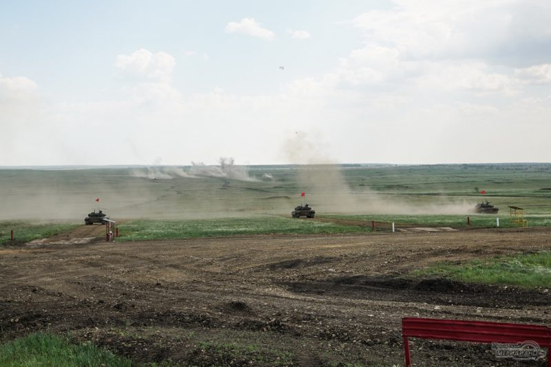 Armeyskie igry Tankovyy biatlon TSVO tank 17.05.21 23
