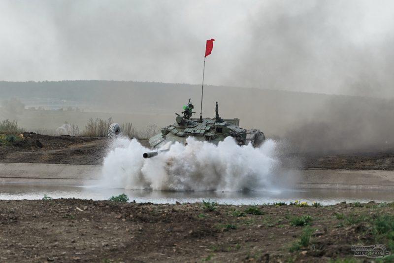 Armeyskie igry Tankovyy biatlon TSVO tank 17.05.21 24