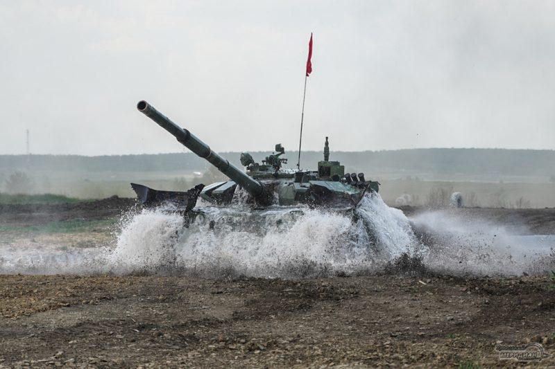 Armeyskie igry Tankovyy biatlon TSVO tank 17.05.21 27
