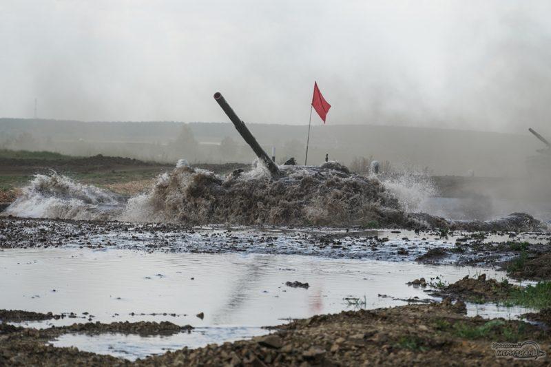 Armeyskie igry Tankovyy biatlon TSVO tank 17.05.21 29