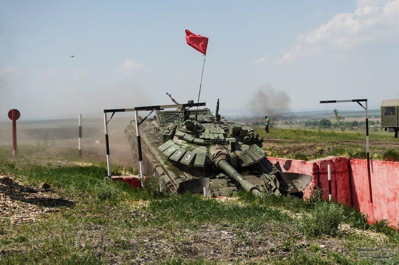 Armeyskie igry Tankovyy biatlon TSVO tank 17.05.21 31