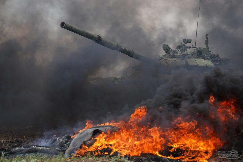 Armeyskie igry Tankovyy biatlon TSVO tank 17.05.21 35