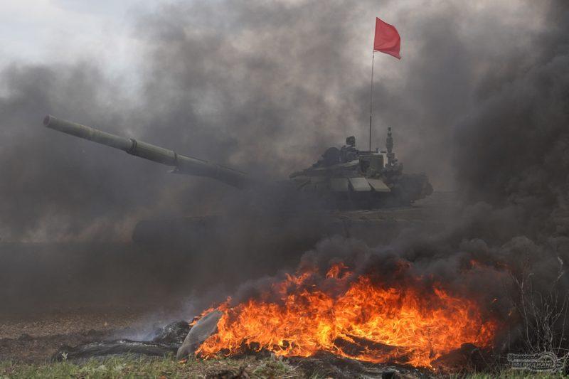 Armeyskie igry Tankovyy biatlon TSVO tank 17.05.21 36