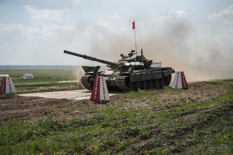 Armeyskie igry Tankovyy biatlon TSVO tank 17.05.21 38