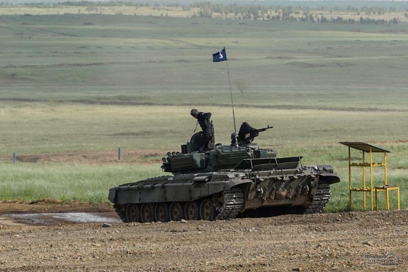 Armeyskie igry Tankovyy biatlon TSVO tank 17.05.21 45