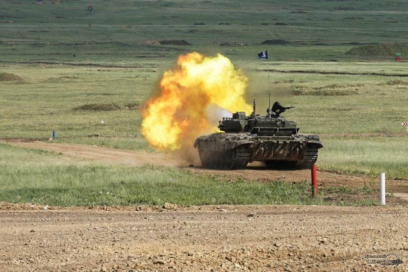 Armeyskie igry Tankovyy biatlon TSVO tank 17.05.21 46