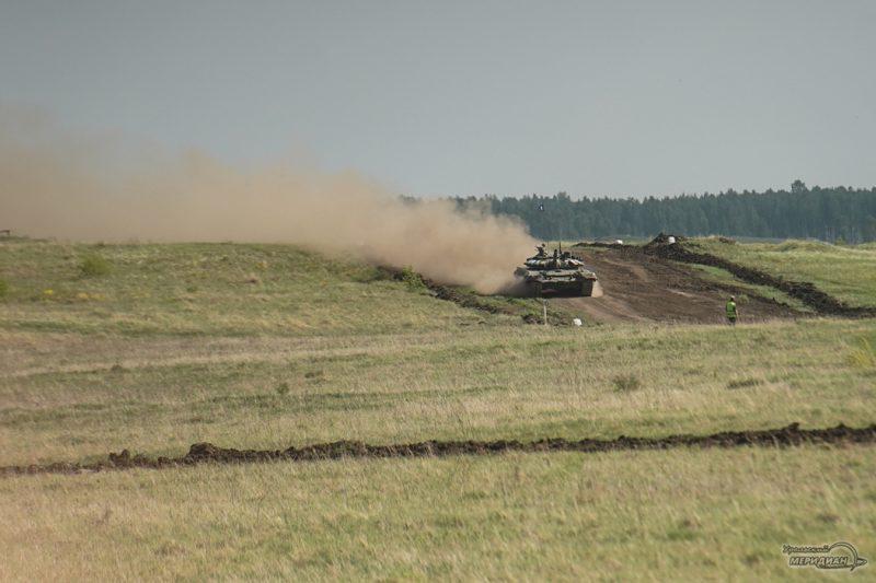 Armeyskie igry Tankovyy biatlon TSVO tank 17.05.21 48