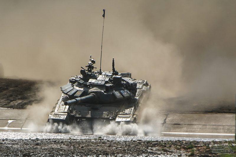 Armeyskie igry Tankovyy biatlon TSVO tank 17.05.21 51