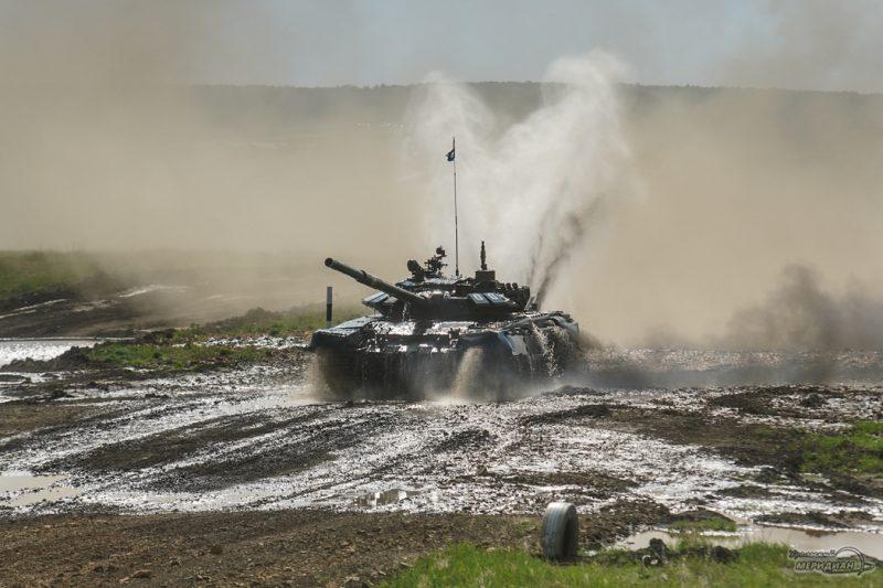 Armeyskie igry Tankovyy biatlon TSVO tank 17.05.21 54