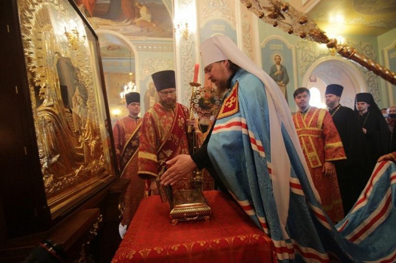 Частичку Пояса Пресвятой Богородицы привезли в Челябинск на 5 дней
