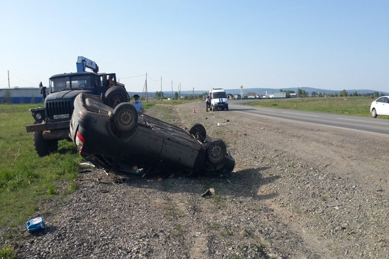 В Свердловской области в результате ДТП погиб человек