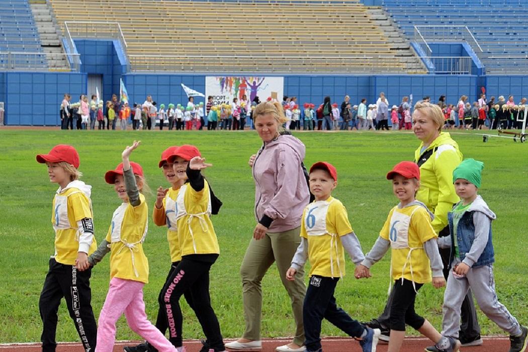 Дети + соревнования