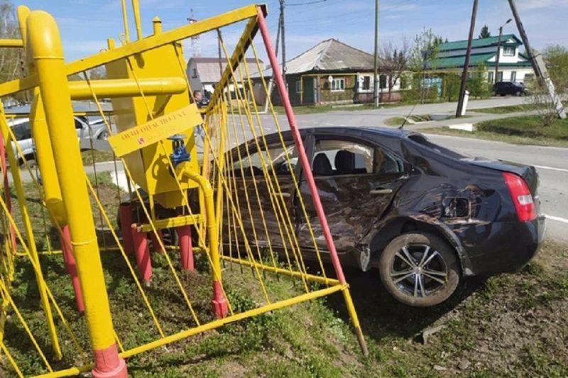 Двое детей и двое взрослых пострадали в ДТП в Ялуторовске 1