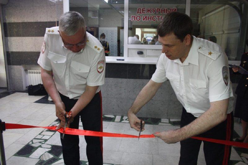 Открытие современного полигона МВД в Уральском институте