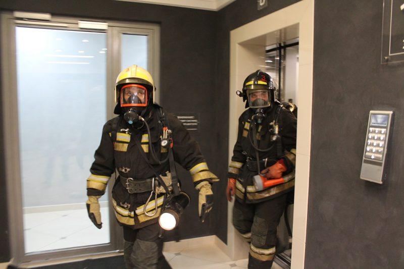 В Екатеринбурге прошла тренировочная эвакуация из бизнес-центра