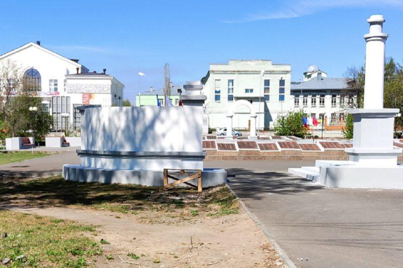 Сквер в Шадринске