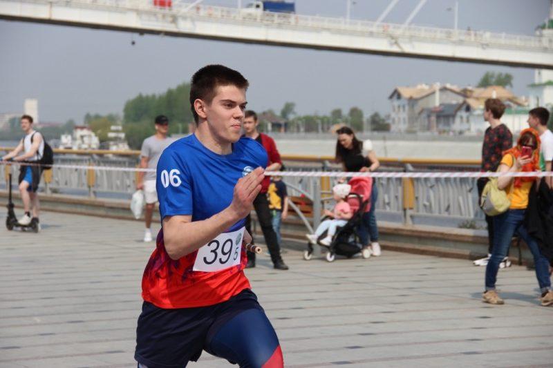 Tyumenskaya estafeta posvyaschennaya VOV