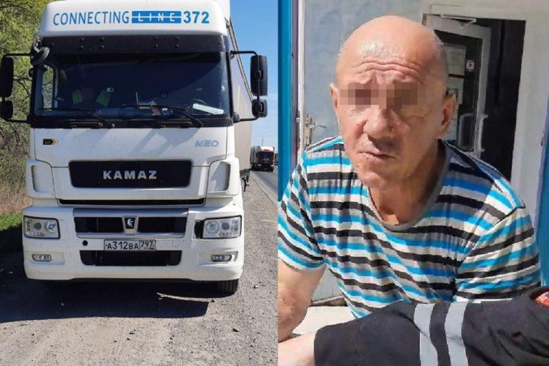 Тюменские автоинспекторы задержали пьяного дальнобойщика