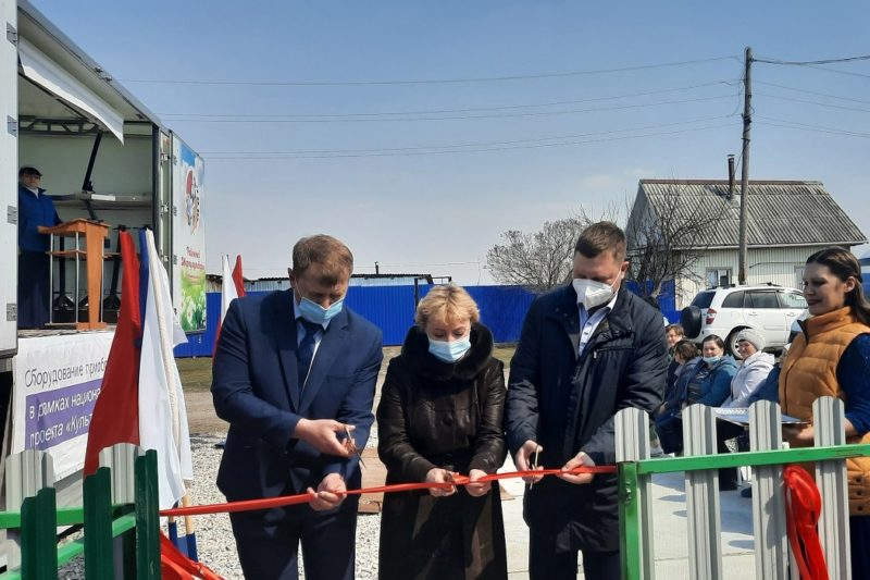 В Ишимском районе открылся новый ФАП 1