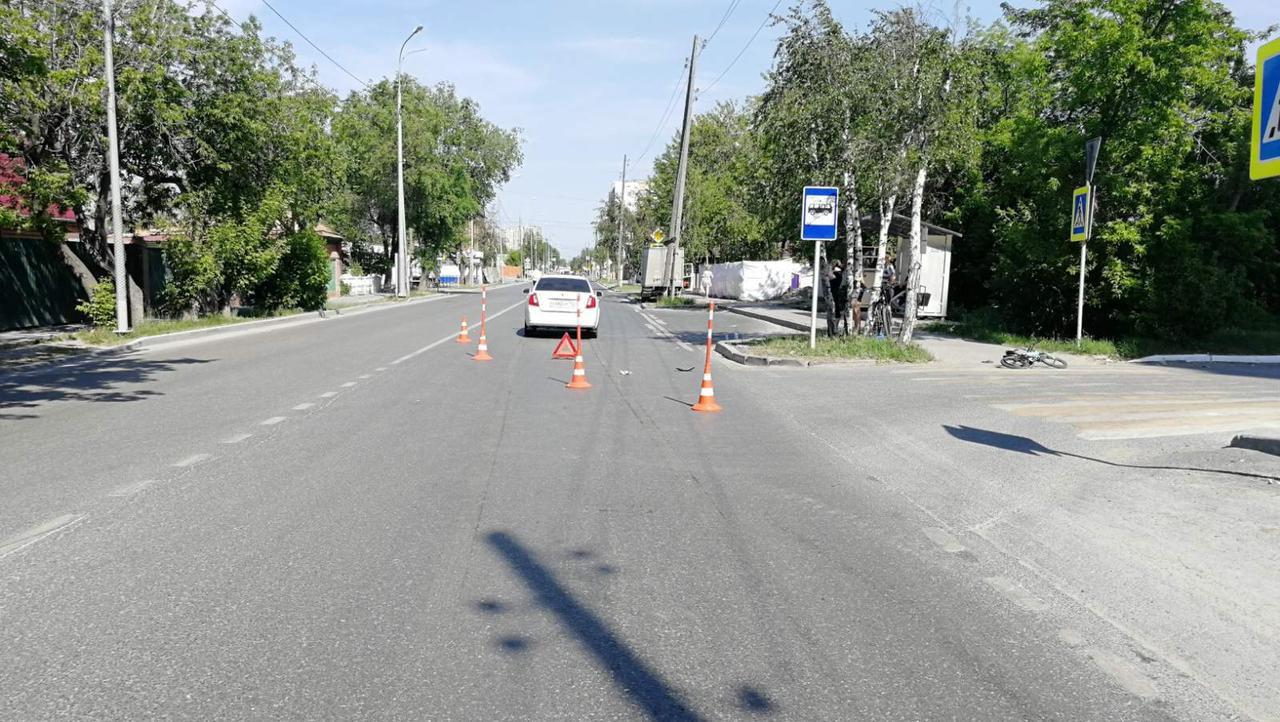 В Тюмени иномарка сбила 6-летнего мальчика на велосипеде 1