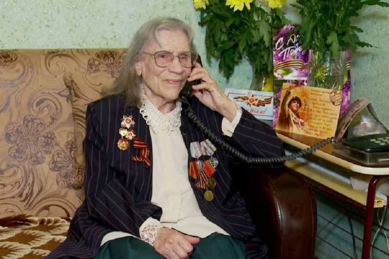 Veteran VOV Tyumenskoy oblasti