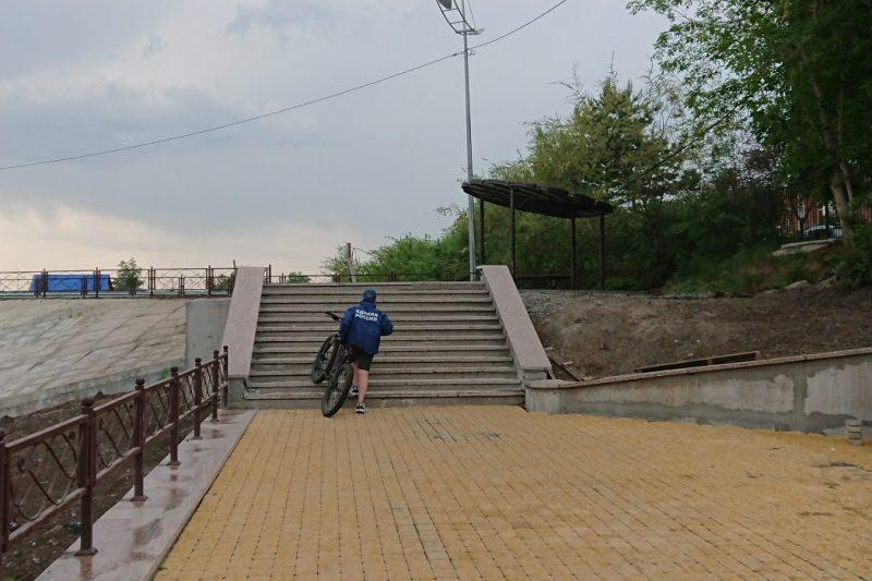 лестница набережной