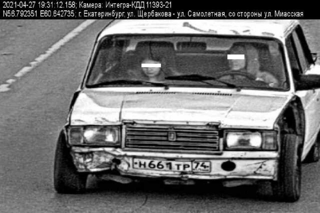 В Екатеринбурге за рулём автомобиля полицейские поймали 8-классника