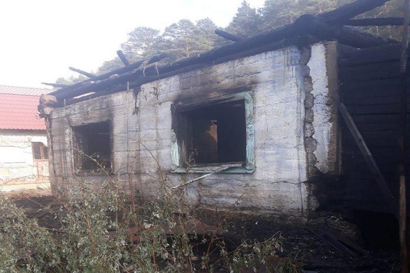 В Красноуфимске во время пожара погибло три человека