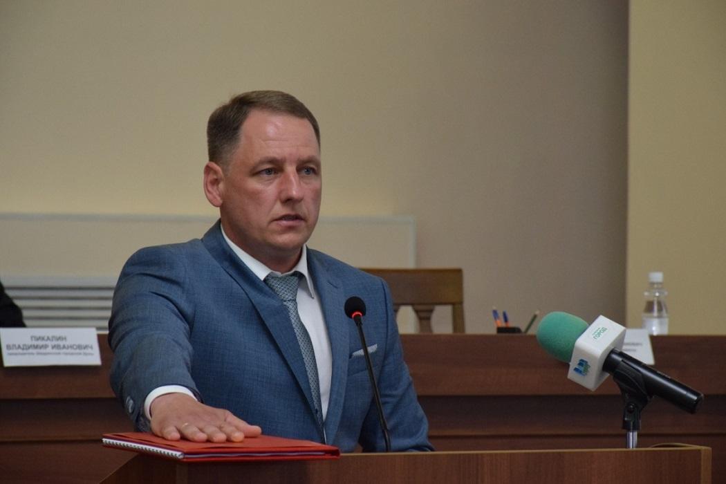 Антон Мокан + вступление в должность