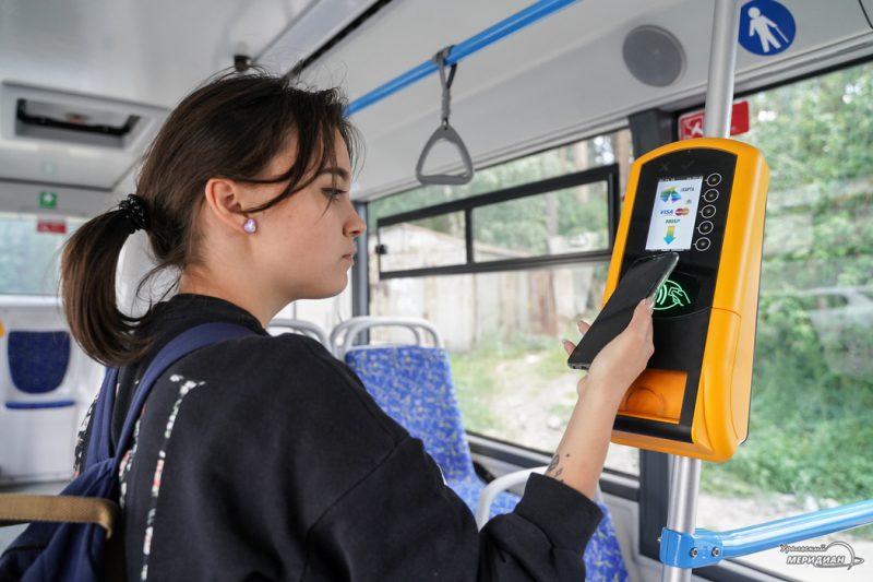 Avtobus validator oplata proed 14