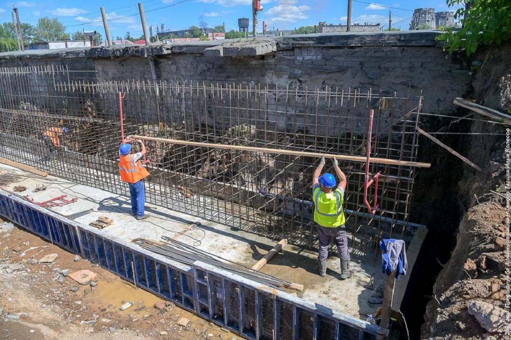 Буровые работы под сваи начались на мосту на Циолковского в Нижнем Тагиле