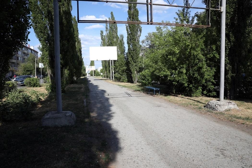 Дорога + Шадринск + деревья
