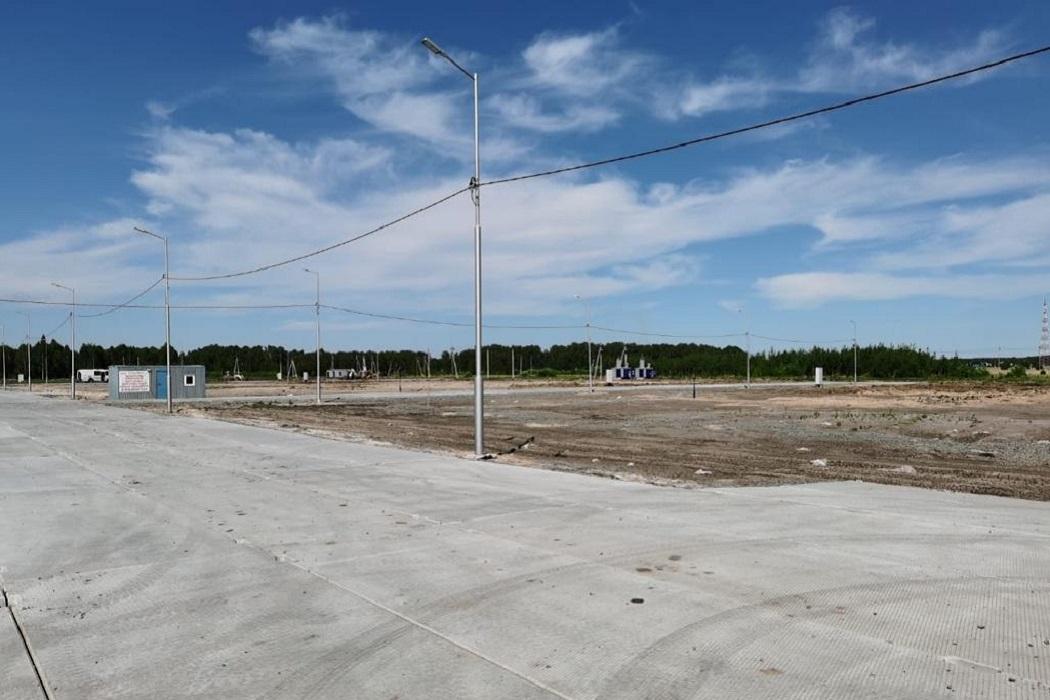 Индустриальный парк + Варгаши + ТОСЭР + дорога + фонари