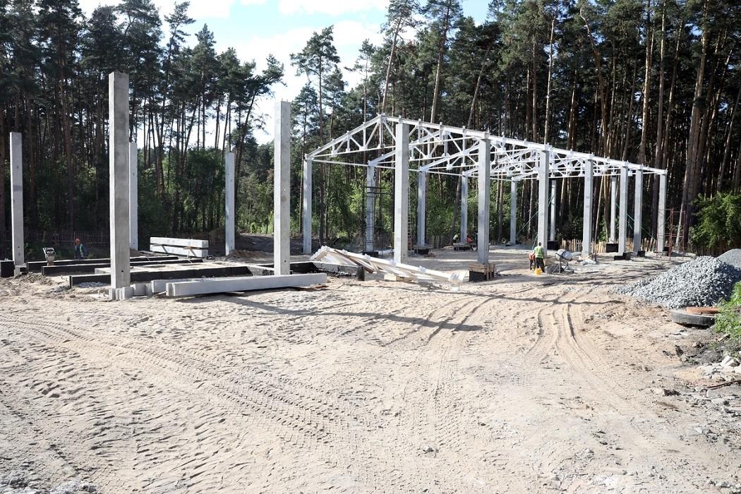 Индустриальный парк + завод + строительство