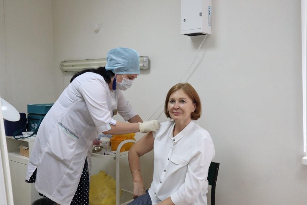 Лариса Кокорина + прививка от коронавируса