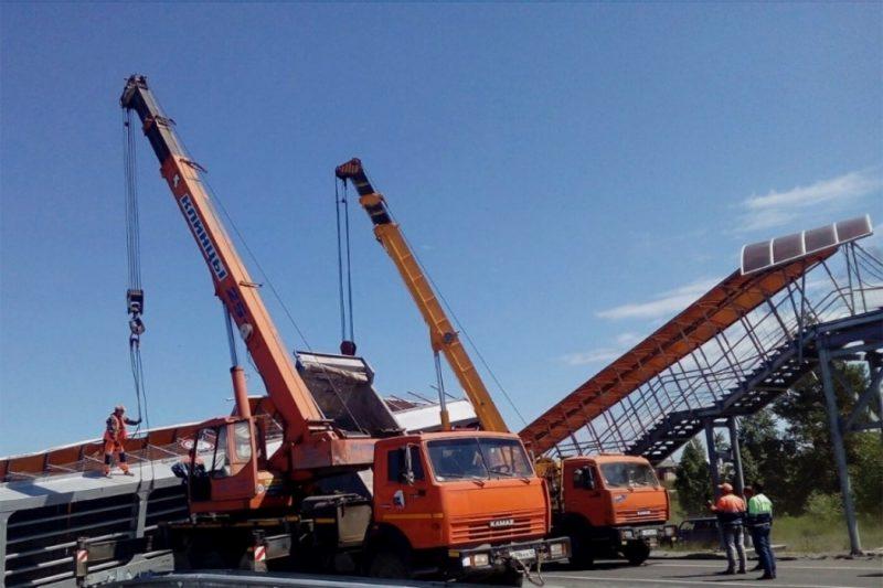 На дороге Челябинск-Курган рухну