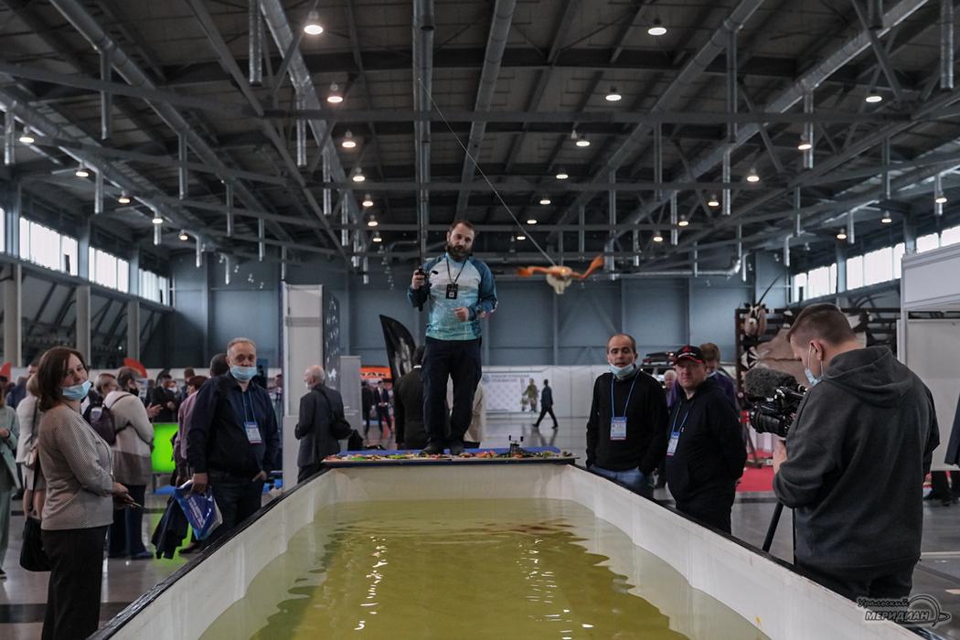 В Екатеринбурге открылась выставка-шоу для охотников, рыбаков и туристов