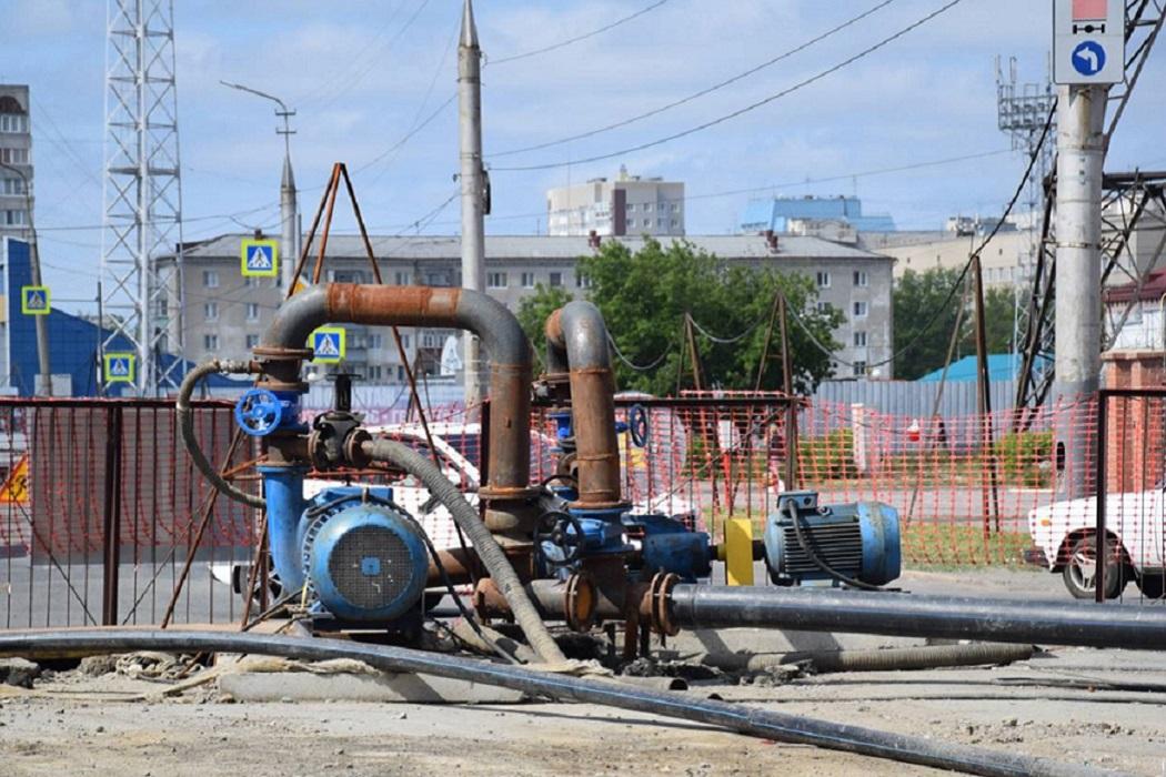Перекачивающая станция + ремонт + трубы + канализация